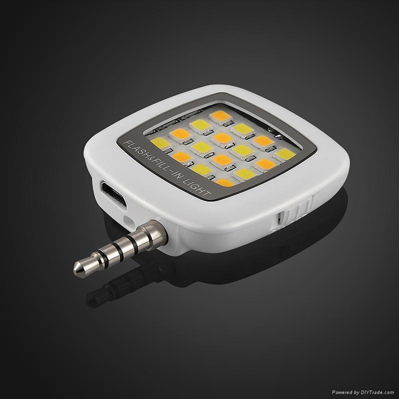 手機LED補光燈 5