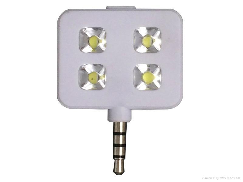 自拍LED補光燈 3