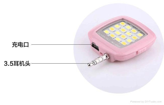 手機外置閃光燈 3