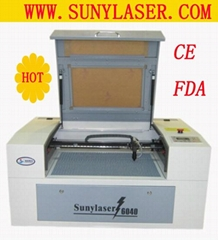 High Speed CO2 Rubber Laser Engraving Machine 50W