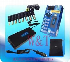 90W multifunctional laptop adapter