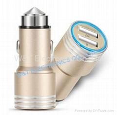 5V/2.1A USB Car charger