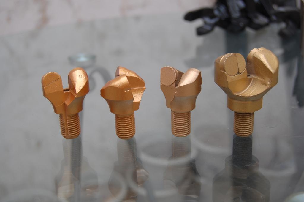 PDC anchor shank drill bit