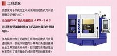 日本WAIDA全自动数控刀具周边磨床