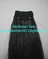 """12-15"""" horse forelock extensions and false horse forelocks made of mane hairs 5"""