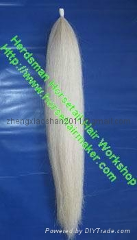 Horse hair show tail extension in 36 inches long 1 pound  3
