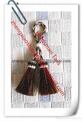 Handmade horse hair tassels