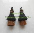 Handmade horse hair tassels 3