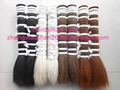 Rocking horse tails with all natural horse hair colors in 60cm long  4