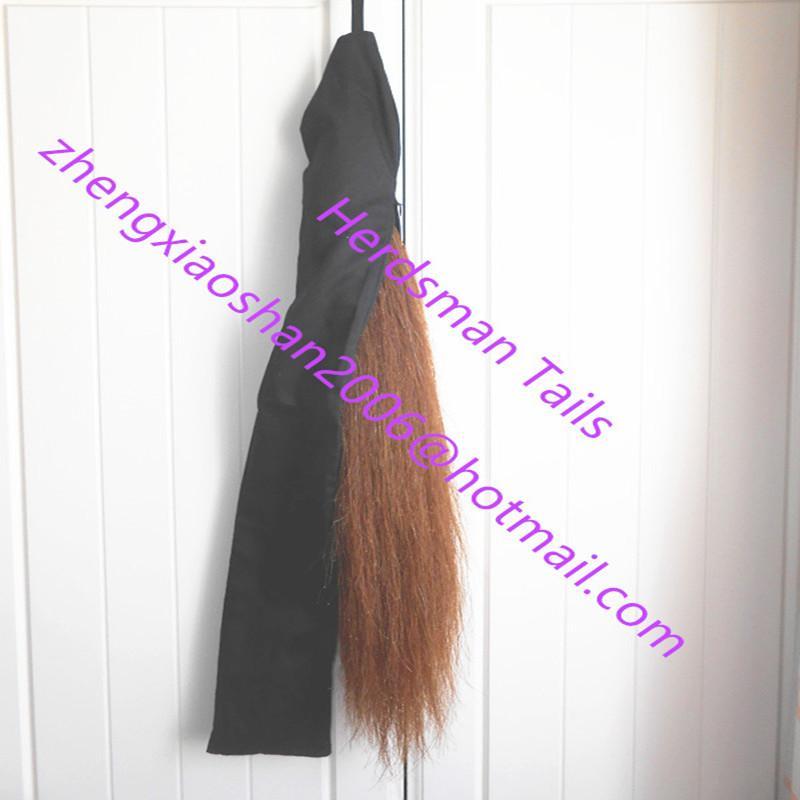 Handmade false horse tail bags for false tails protection 2