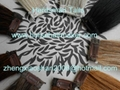 """12-15"""" horse forelock extensions and false horse forelocks made of mane hairs 2"""