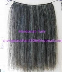 "Horse mane extensions and 18"" long horse hair wefts for rocking horse mane"