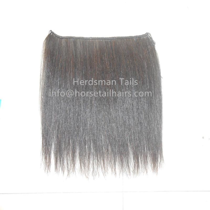 "Horse mane extensions and 18"" long horse hair wefts for rocking horse mane 4"