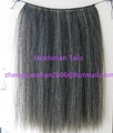 50cm horse hair wefts for rocking horses manes weaved by hand 2