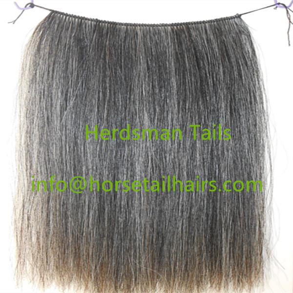 50cm horse hair wefts for rocking horses manes weaved by hand 3