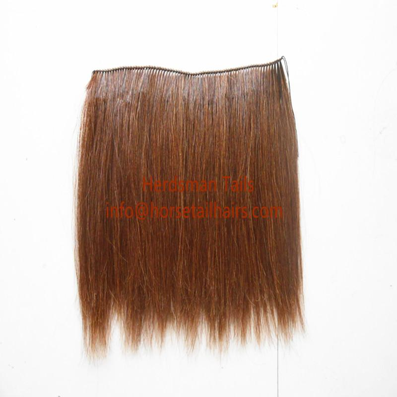 50cm horse hair wefts for rocking horses manes weaved by hand 4