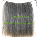 Wefted horse hairs and horse mane hairs for mane extensions and rocking horse  4