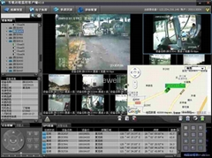 Realtime Monitor Mobile DVR (RC-8004H)could be added GPS