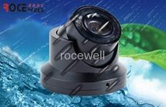 mini 540 TVL 12VDC PAL/NTSC infrared spectrum weatherproof  color camera