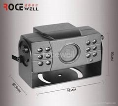 540 TVL 12VDC audio output 12LED PAL infrared spectrum color sony 1/3 Camera