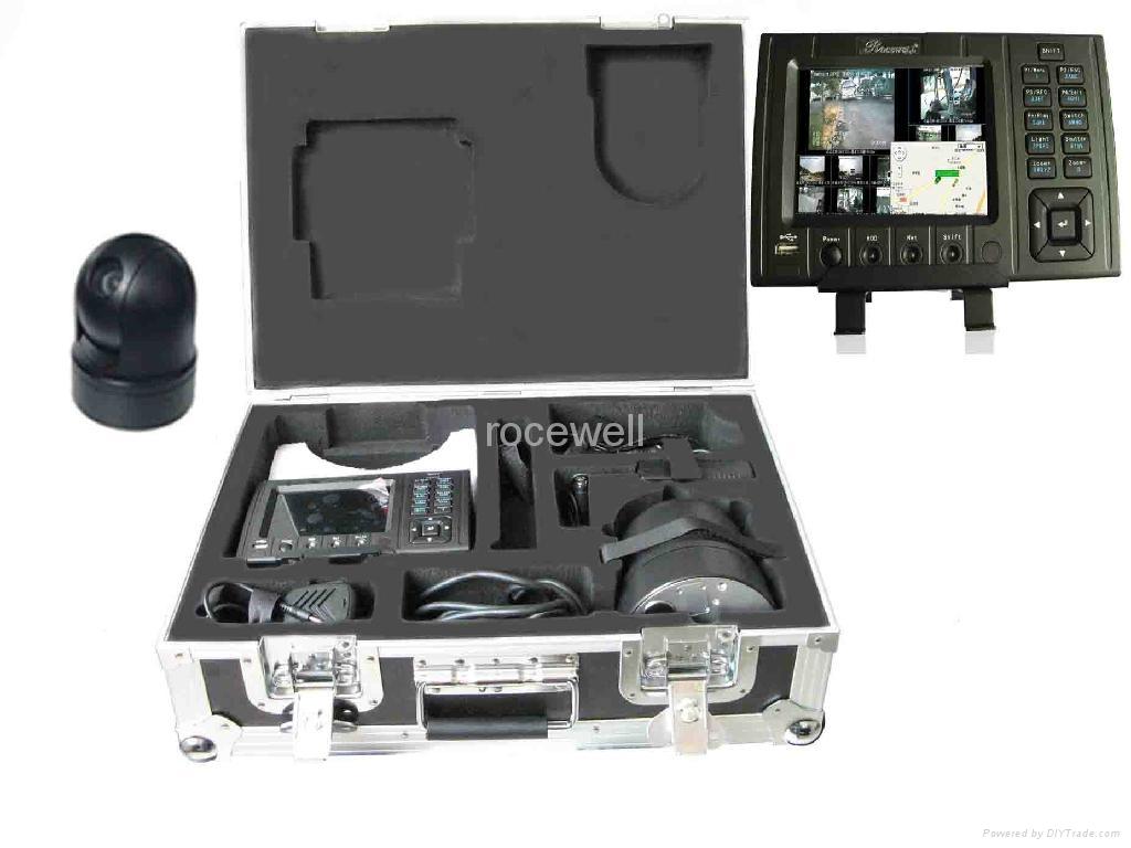 3G+GPS realtime remote wireless track car monitor mobile DVR 1