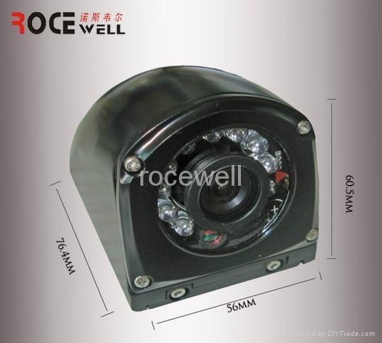 540 TVL 12VDC NTSC weatherproof infrared spectrum demo color CCTV sony CCD camer 2