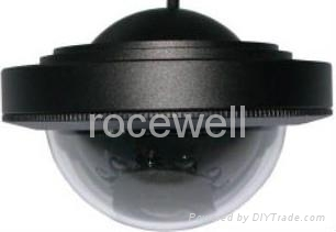 540 TVL PAL 12VDC PAL weatherproof infrared spectrum demo color sony 1/3 CCD cam 5