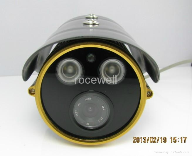 Color Waterproof  IR Network ONline Security CCD CMOS IP Camera 2