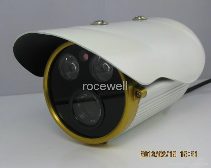 Color Waterproof  IR Network ONline Security CCD CMOS IP Camera 4