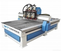 SCT-PH1530 Pneumatic tool change 3 spindle wood cnc router