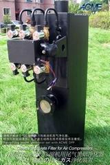 柴油空氣壓縮機尾氣黑煙淨化器