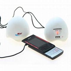 時尚潮流MINI雞蛋USB音響A08M