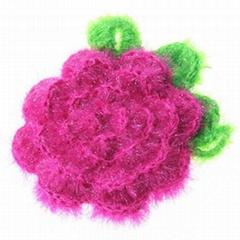 日韓熱賣雅舍手工編織清潔布綠葉花多色