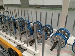 冷胶包覆机  6米420型门边包覆机  套线覆膜机