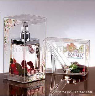 pvc透明香水盒 1
