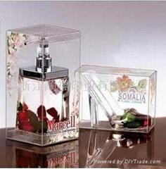 pvc透明香水盒