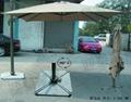 羅馬傘高檔遮陽傘戶外傘送大理石底座 2