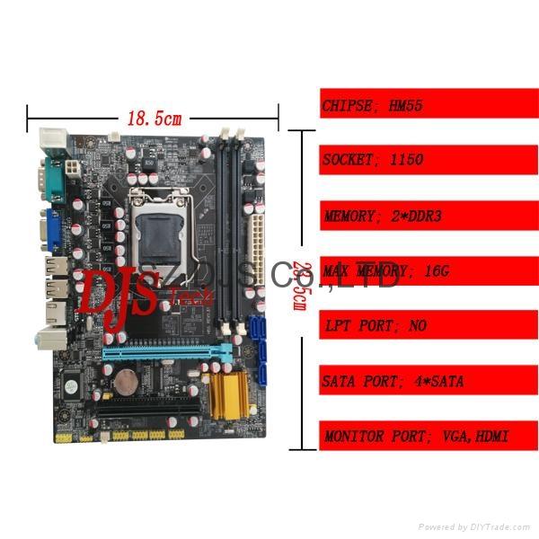 Special price lga 1156 motherboard 4
