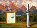 遥测雨量站