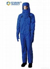 低溫液氮防護服