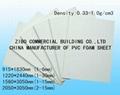 White PVC Foam Board, Lightweight Construction Material, Plastic Construction Fo 2