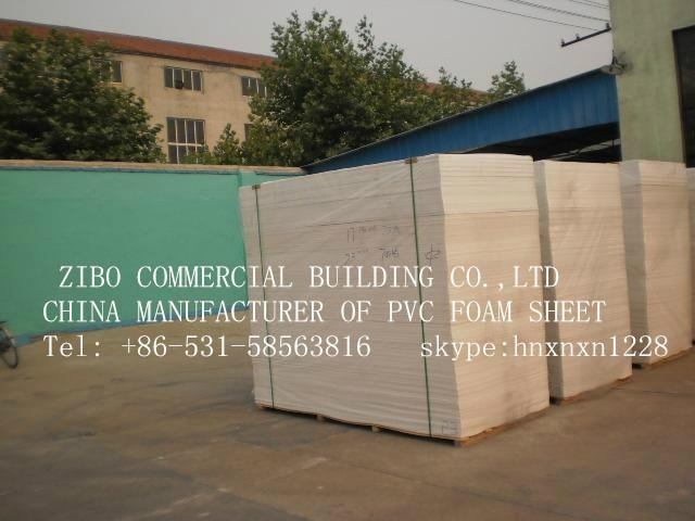 White PVC Foam Sheet 1220*2440mm with High Quality and Low Price 2