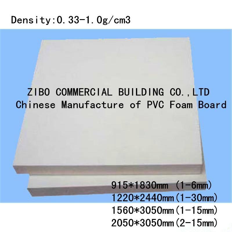 China Top Manufacturer Wholesale PVC Foam Sheet  6