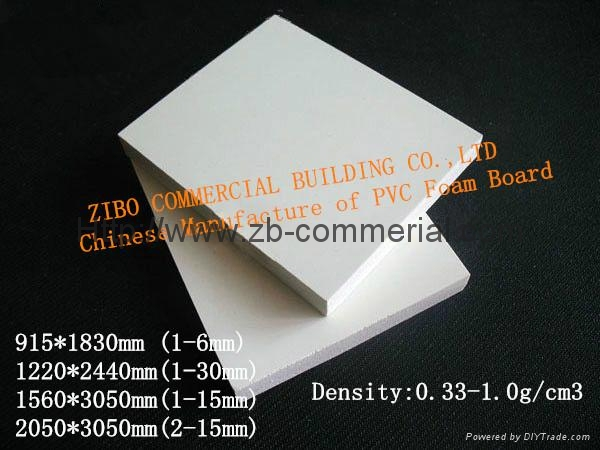 White PVC Foam Board, PVC Sheet with Different Density, Forex Board 2