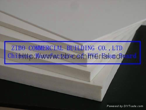 White PVC Foam Board, PVC Sheet with Different Density, Forex Board 4