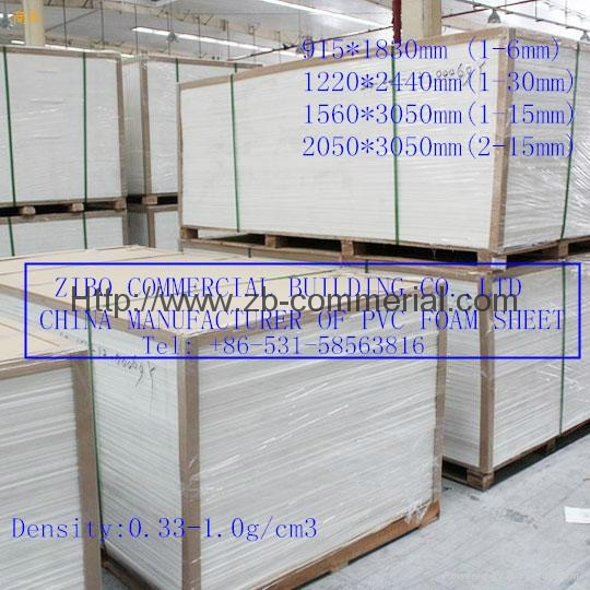 White PVC Foam Board, PVC Sheet with Different Density, Forex Board 7