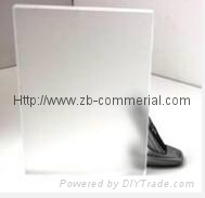 One-side Matt/Frosted Acrylic Sheet Acrylic Plate  1