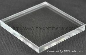 Acrylic Sheets in Transparent Clear Color 2