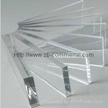 Clear Color Cast Acrylic Sheet (all machines imported from Taiwan) 4