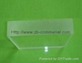 Translucent Cast Acrylic Plate  1
